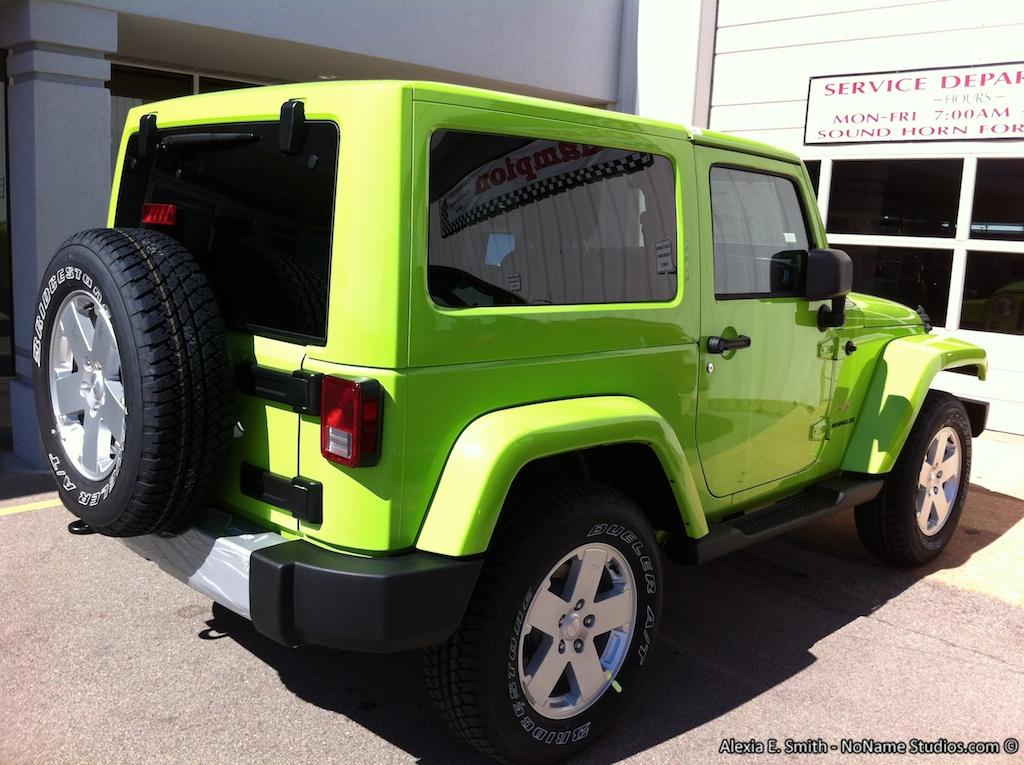 Alabama 2012 Jeep Wrangler Sahara Gecko Green Jeep