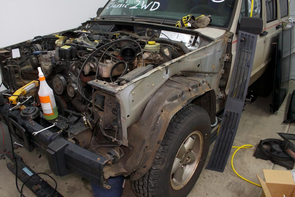 Cherokee Resurrection Build Thread Jeepforum Com